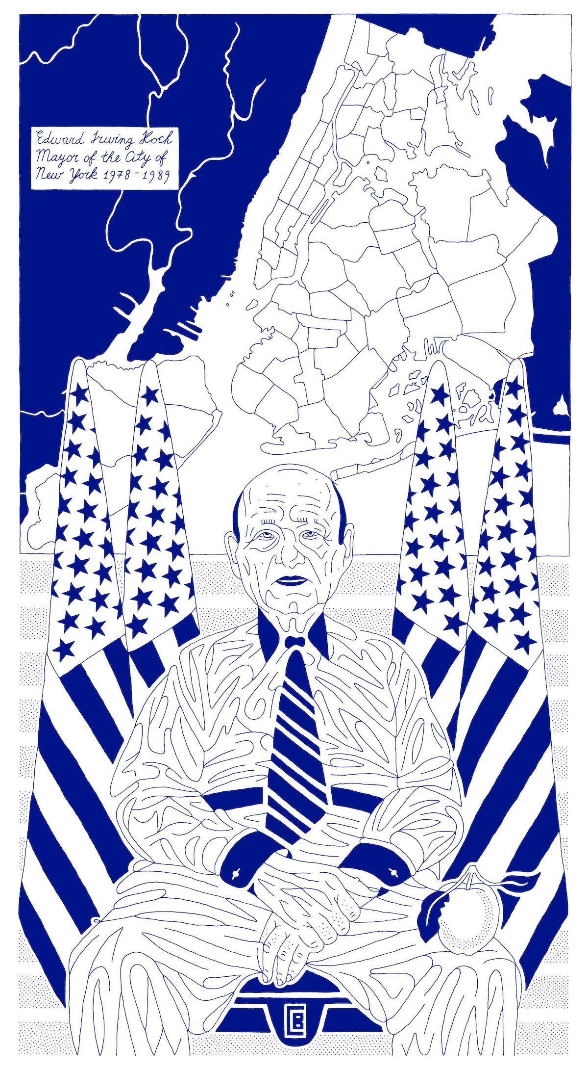 Koch - Mayor of the City of New York