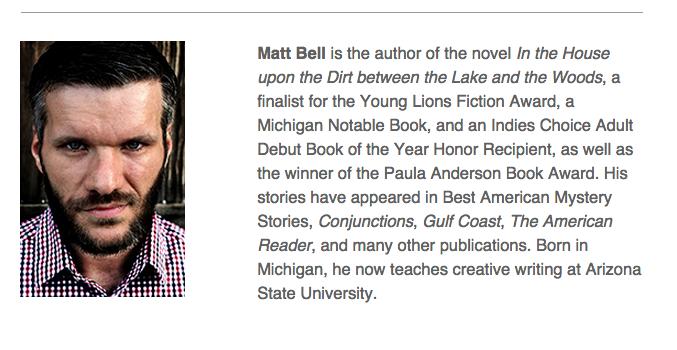 Matt Bell Bio