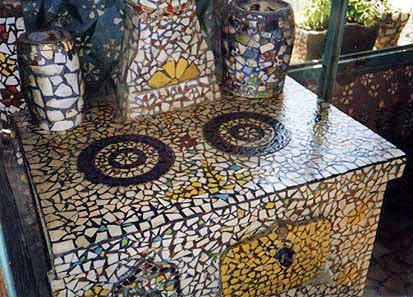 mosaic oven