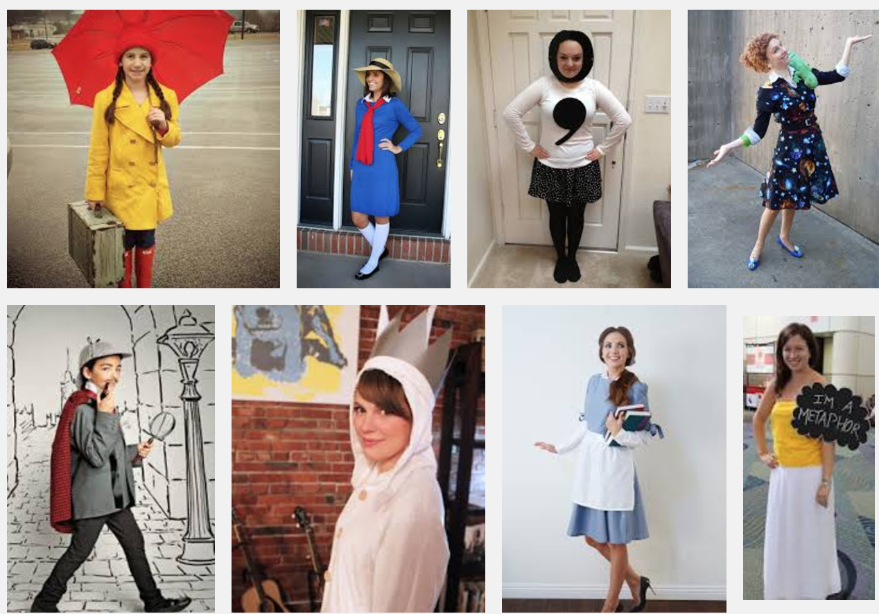 Literary Costume Contest