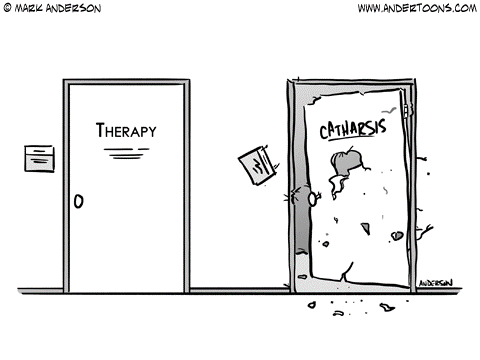 Catharsis vs Therapy