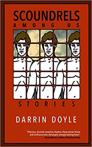 """Cover of """"Scoundrels Among Us"""" by Darren Doyle."""